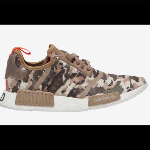 new product 4de5a 8c973 New Men's Adidas Originals NMD R1 Camo shoes 11.5 NWT